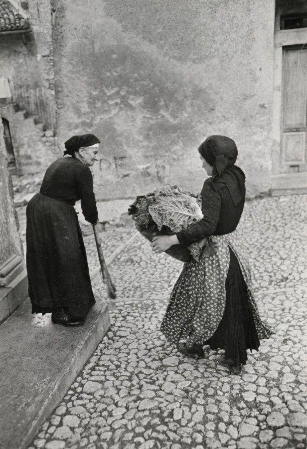 Scanno, Italy, 1951.