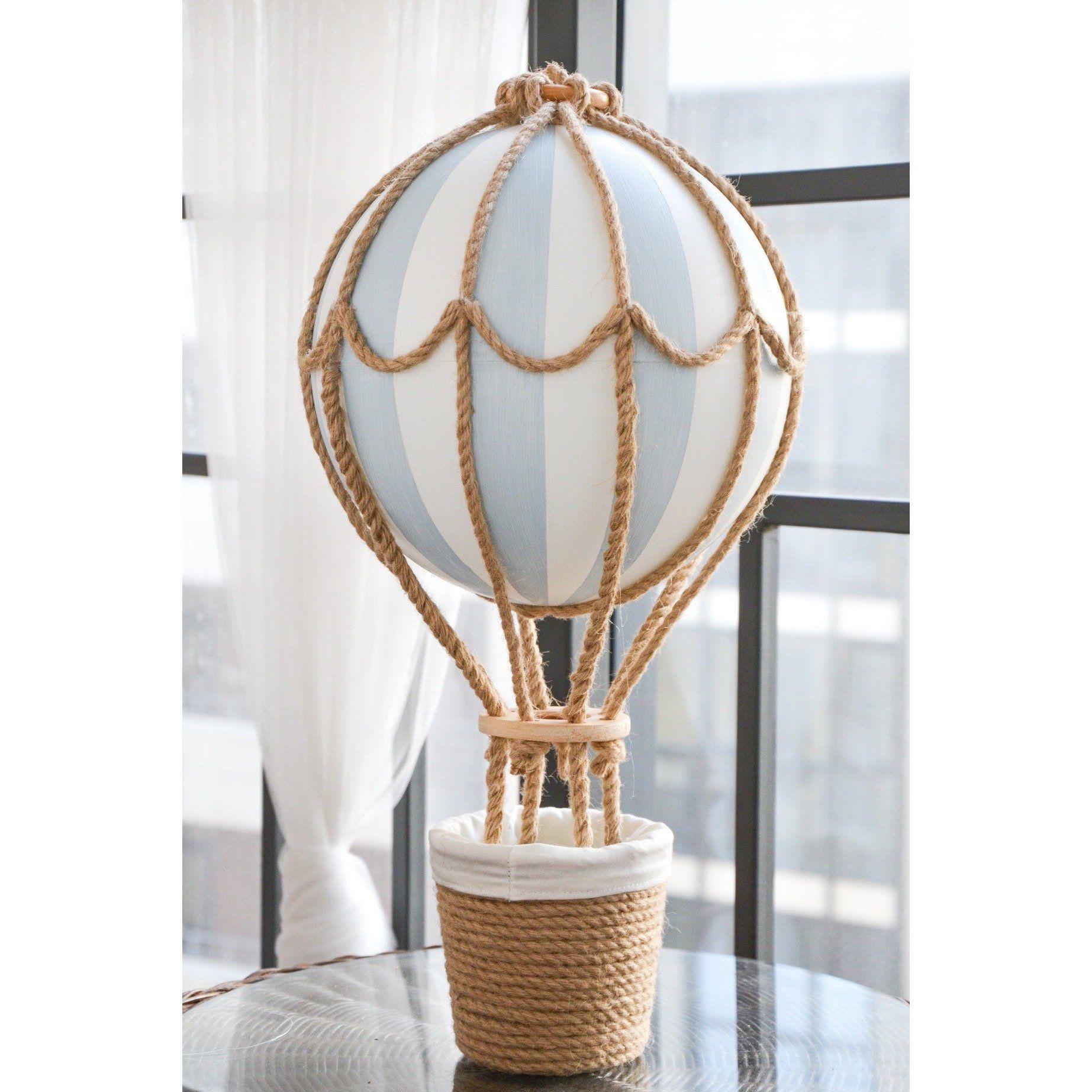 Hot Air Balloon Medium Centerpiece, Travel Nursery Decor