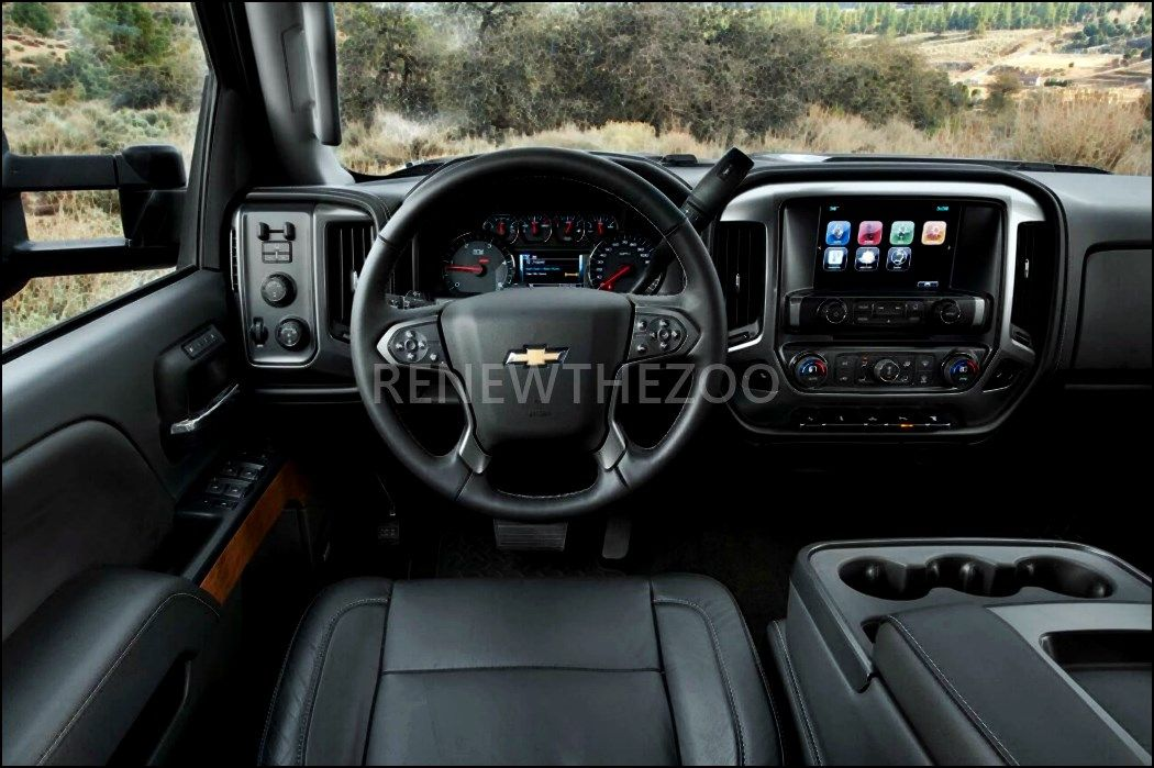 The Best 2020 Chevy 2500 Interior Colors And View Di 2020