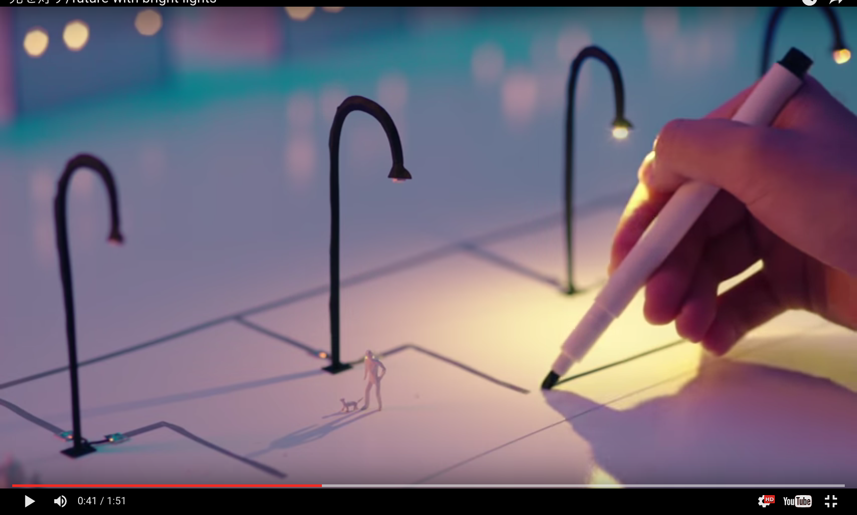 "This strangely therapeutic video shows us the magic of the ""AgIC pen ..."