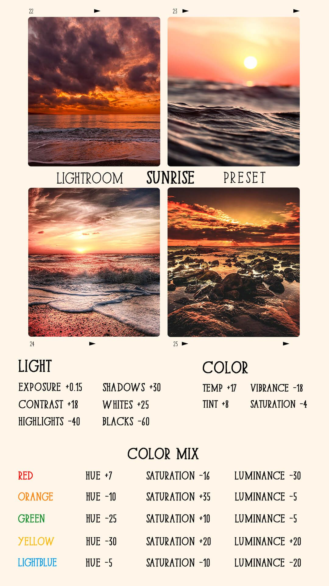 Lr Effects Free Sunrise Preset Lightroom Lightroom Tutorial Photo Editing Lightroom Presets Tutorial Lightroom Presets