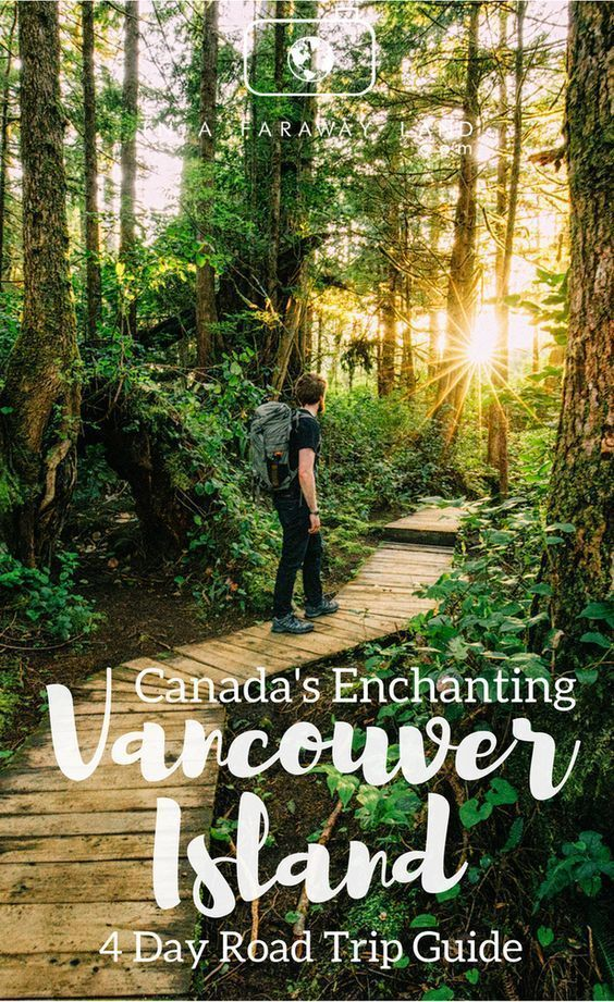Canada's Enchanting Vancouver Island - 4 day Road Trip Guide