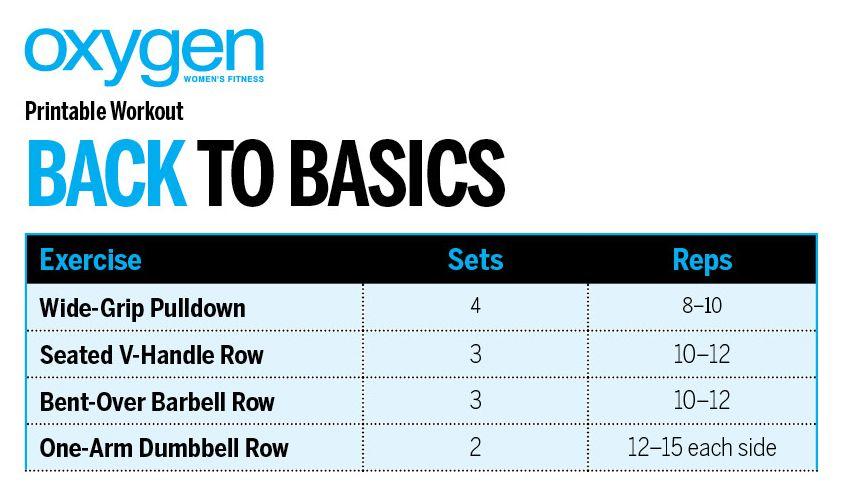Back To Basics - Oxygen Women's Fitness