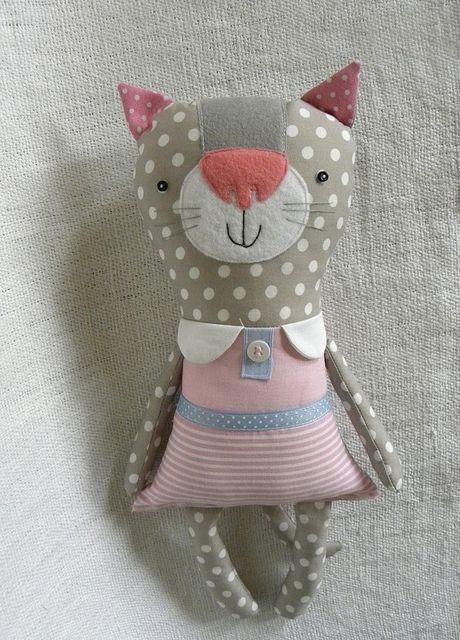 Miss Penelope Meow | poduszki w wafelek | Pinterest | Nähen fürs ...
