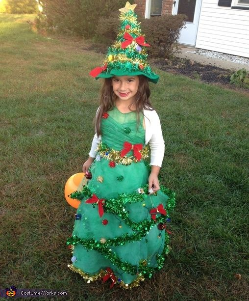 Christmas Tree Halloween Costume Contest At Costume Works Com Christmas Tree Halloween Costume Christmas Tree Costume Christmas Tree Outfit