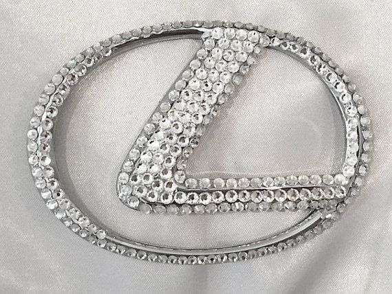 Toyota Lexus Honda Chevy Bling car emblem by livelaughshine