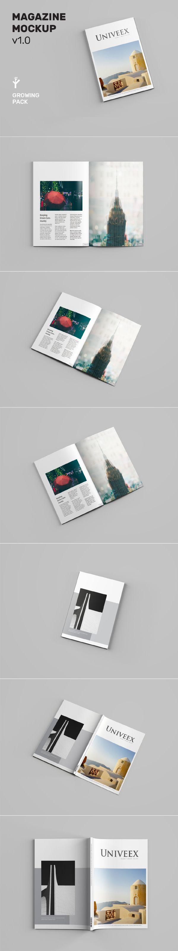Free A4 Magazine Mockup Magazine Mockup Mockup Mockup Psd