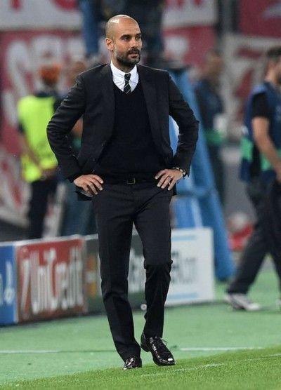 career wardrobes the athletic coach pep guardiola