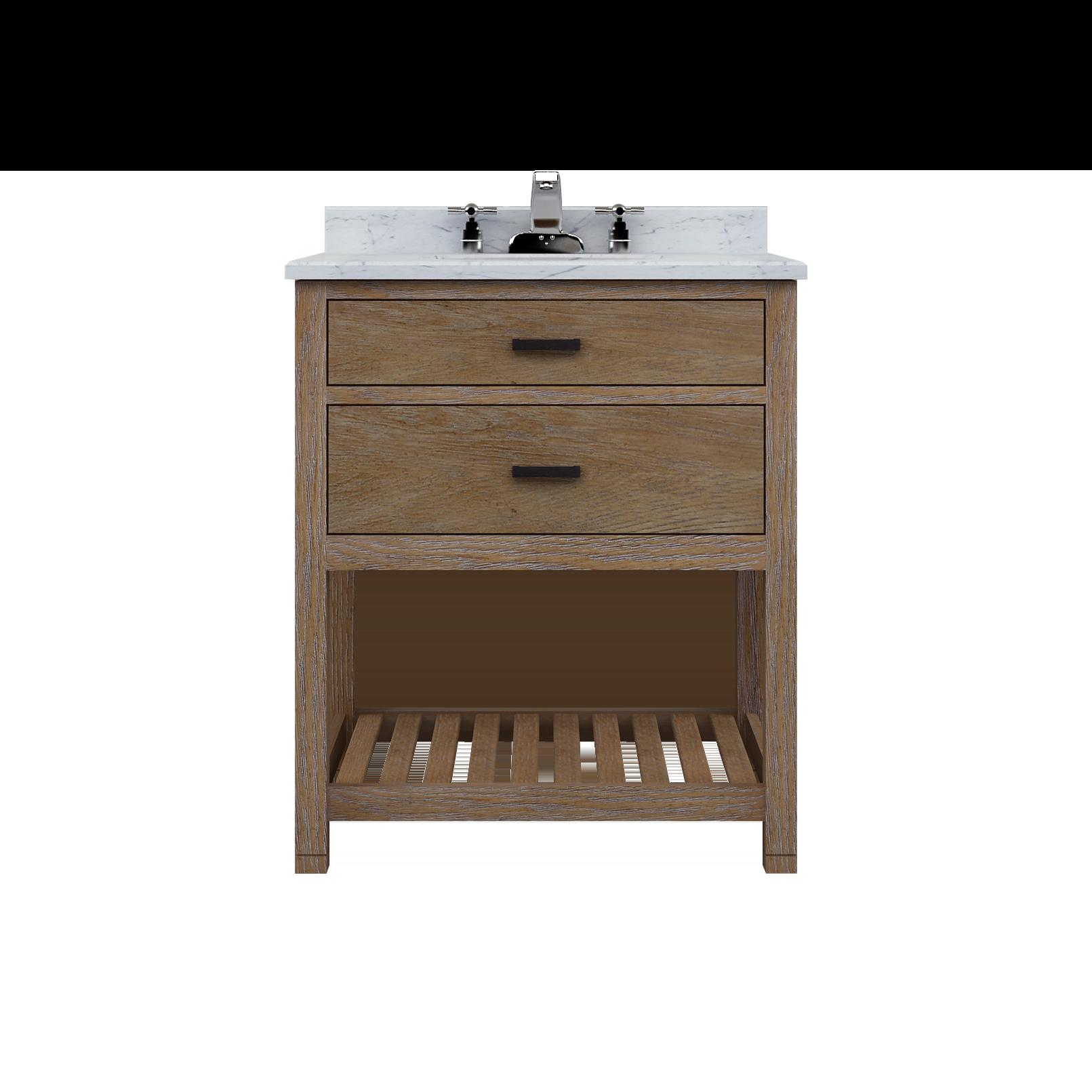 "Sagehill Designs Bathroom Vanities Sagehill Designs Tb3021D Toby 30"" One Drawer Vanity With Open"