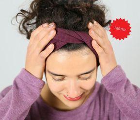 Stirnband FRAU STINA in kurzer Zeit selber nähen - DIY-Family