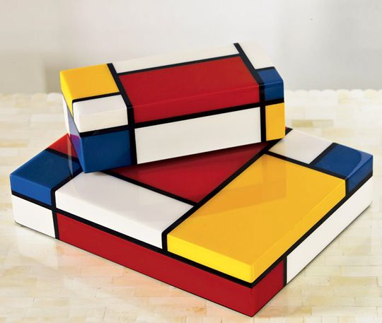 Mondrian Inspired Pieces Style Home Decor And Furniture