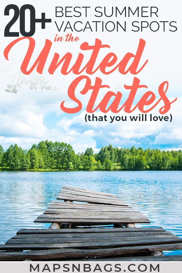 20+ Amazing Summer Destinations in the US [#5 will blow your mind!] -   19 travel destinations United States adventure ideas