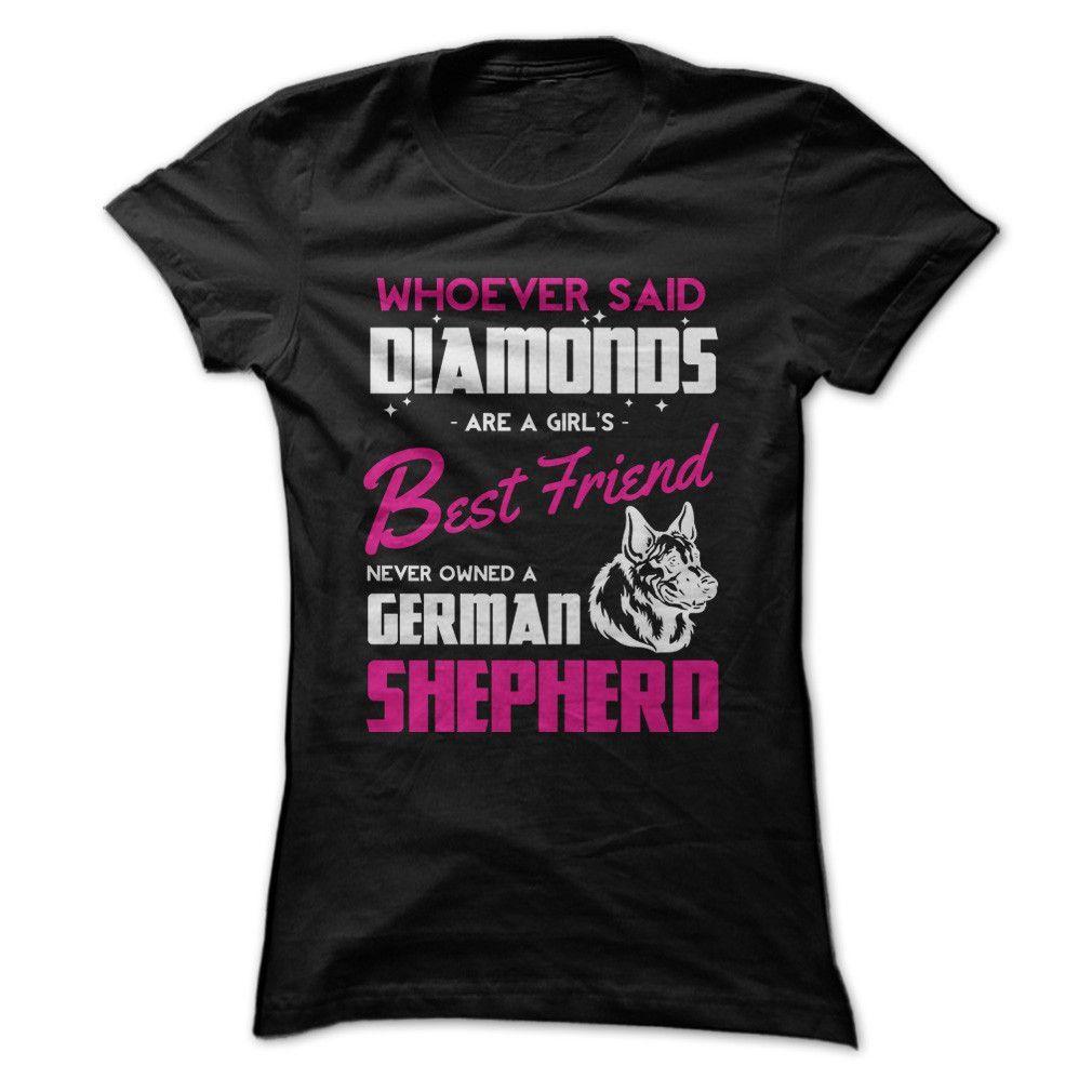 German Shepherds Are A Girl's Best Friend