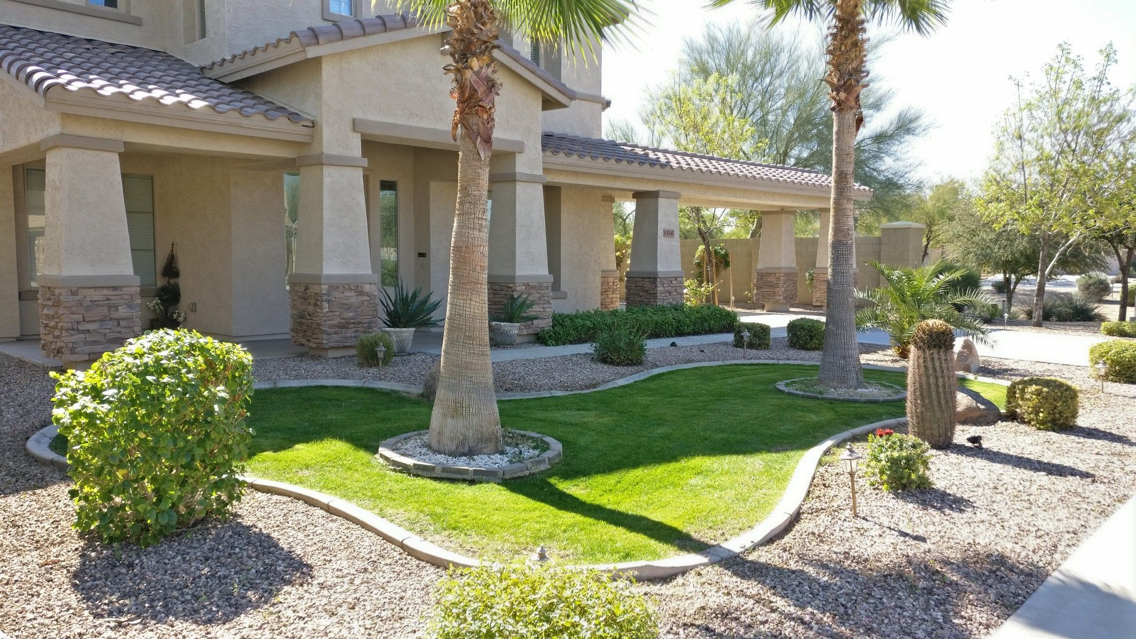 Agua Fria Landscaping Arizona Landscaping Landscaping Services Arizona Desert Landscaping