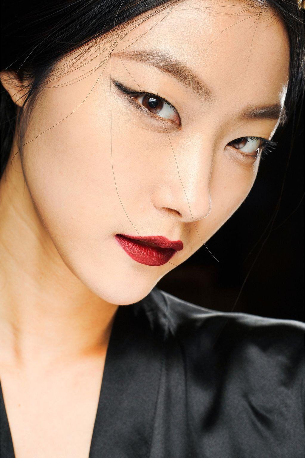 16 of the fiercest, baddest high fashion models Asian