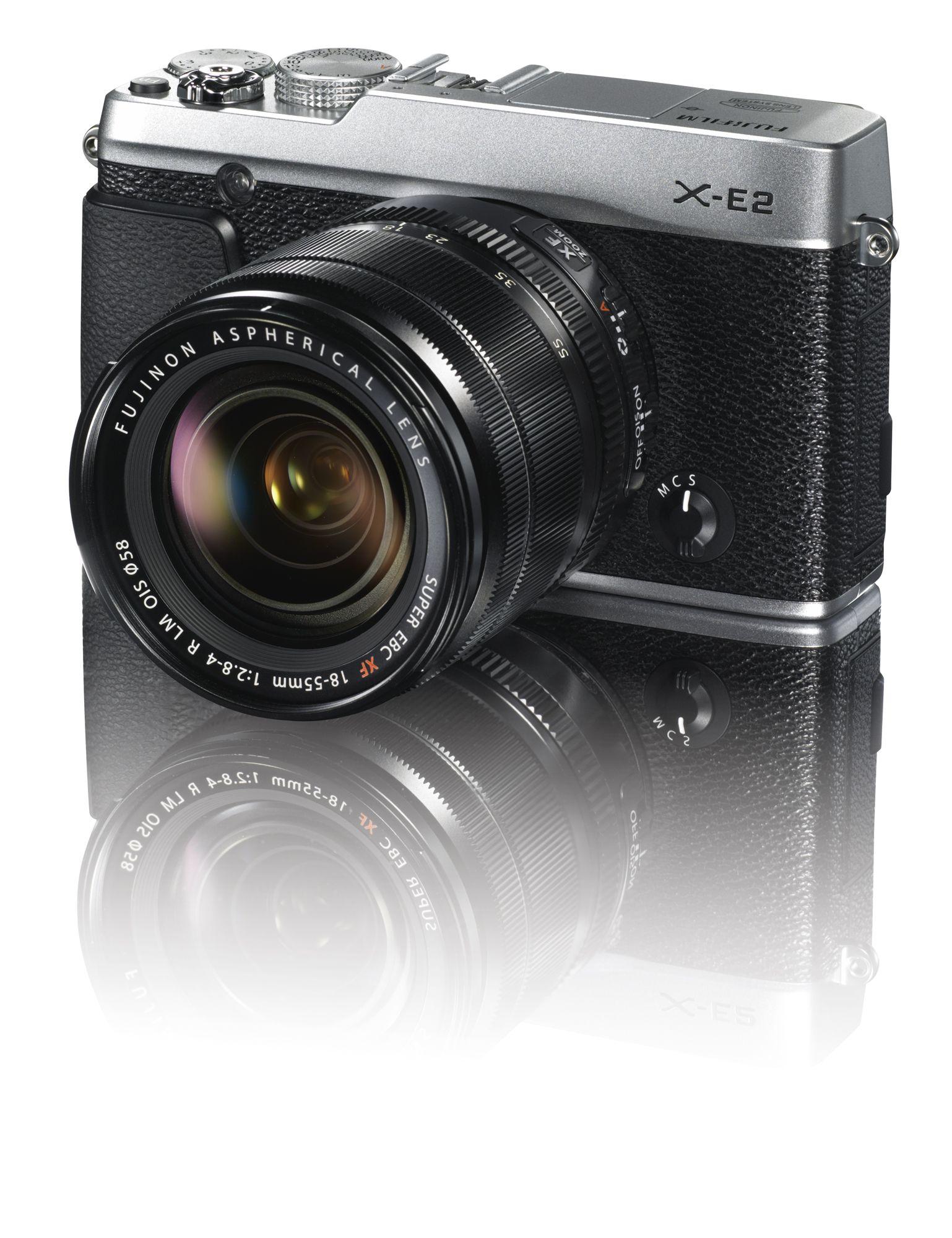 X-E2 Silver Front Right 18-55mm