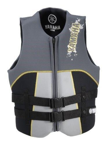 Yamaha Waverunner Neoprene Life Jacket Vest Pfd X Small Yellow