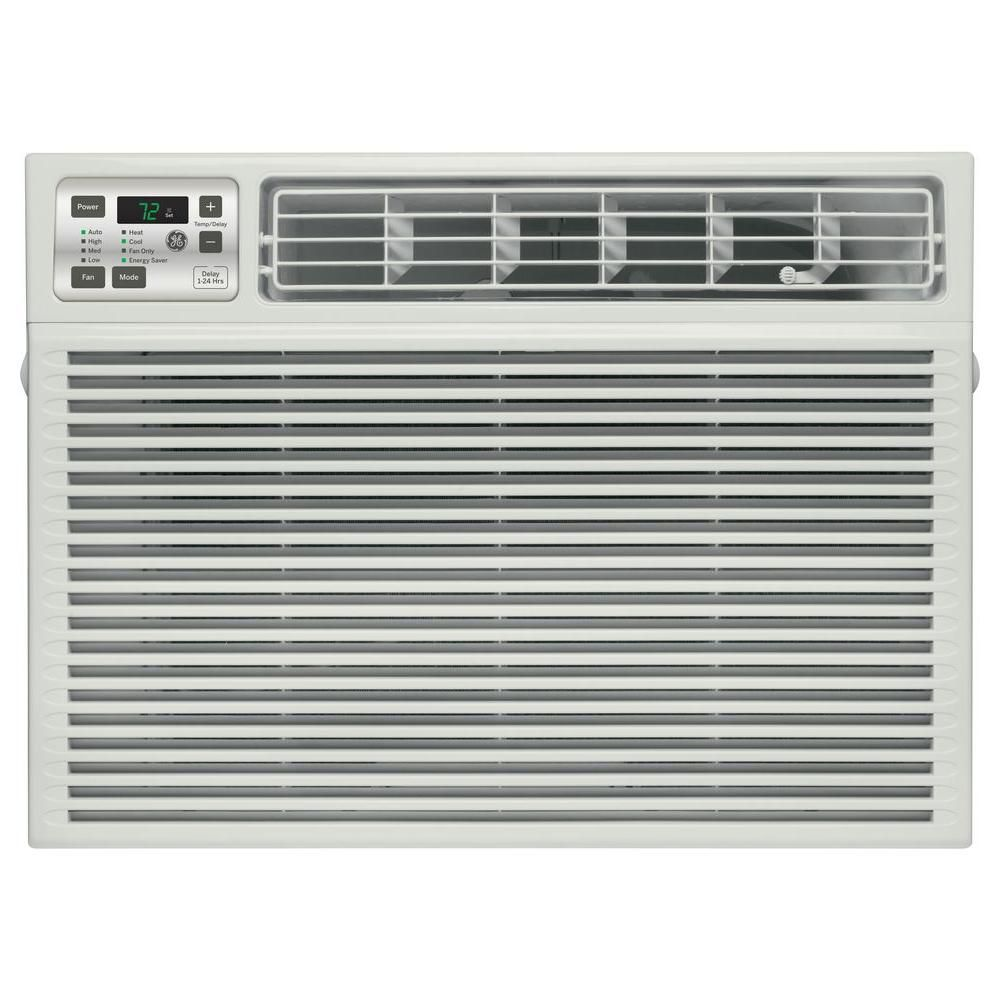 GE 115-Volt Electronic Heat/Cool Room Window Air Conditioner