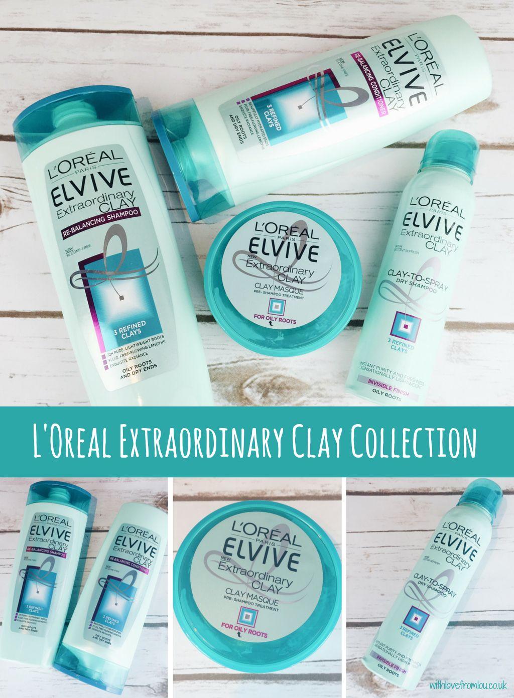 L'Oreal Extraordinary Clay Collection Loreal shampoo