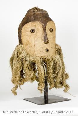 Máscaras en el Museo Nacional de Antropología