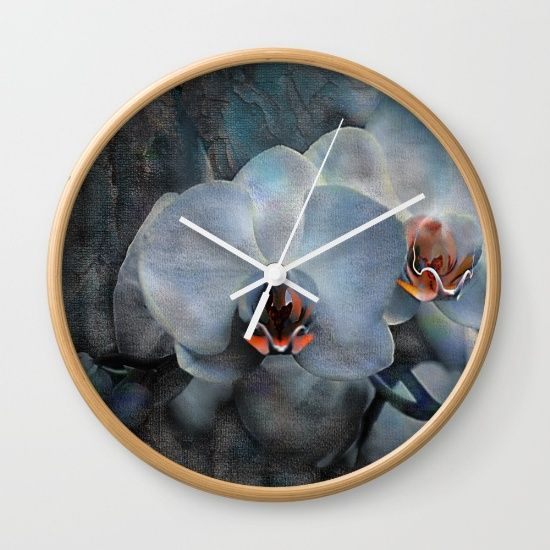 The mystery of orchid(12) Wall Clock