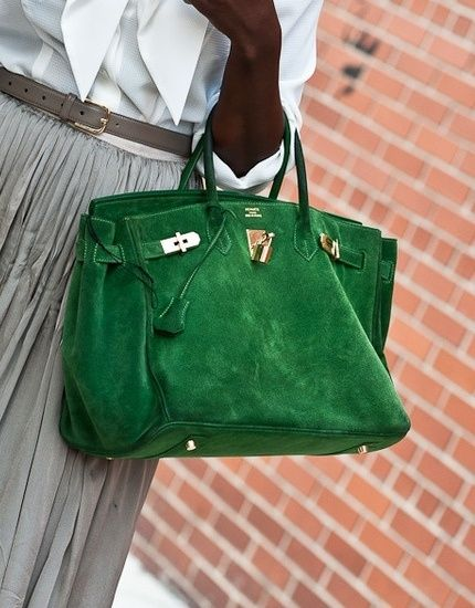 green suede purse  5f9e3497f2b81