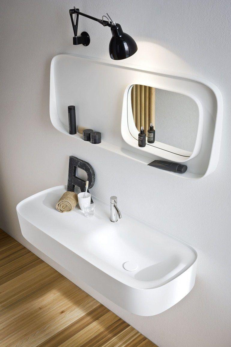 Specchio Per Lavandino Angolare specchio bagno fonte | specchio bagno - rexa design