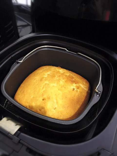 Durian Butter Cake Using Airfryer Very Easy Recipe Air