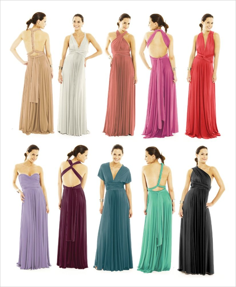Who will try this convertible wrap dress fashion pinterest infinity dress bridesmaids dresses wrap dresses convertable dresses reserved listing for miacah pugh for fabric deposit ombrellifo Images