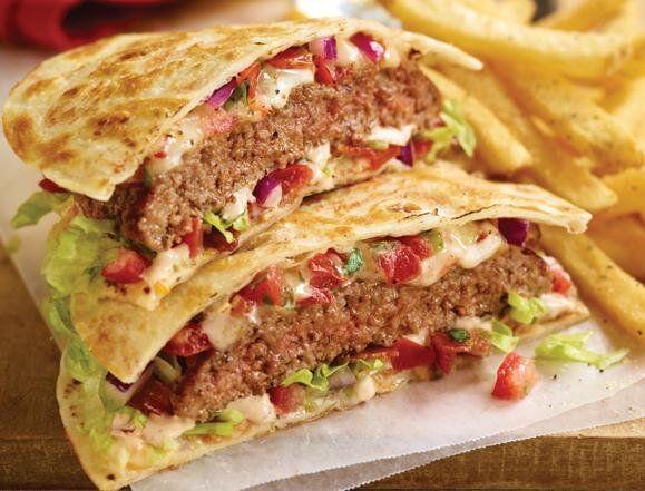 Recipe for Cheeseburger Quesadillas