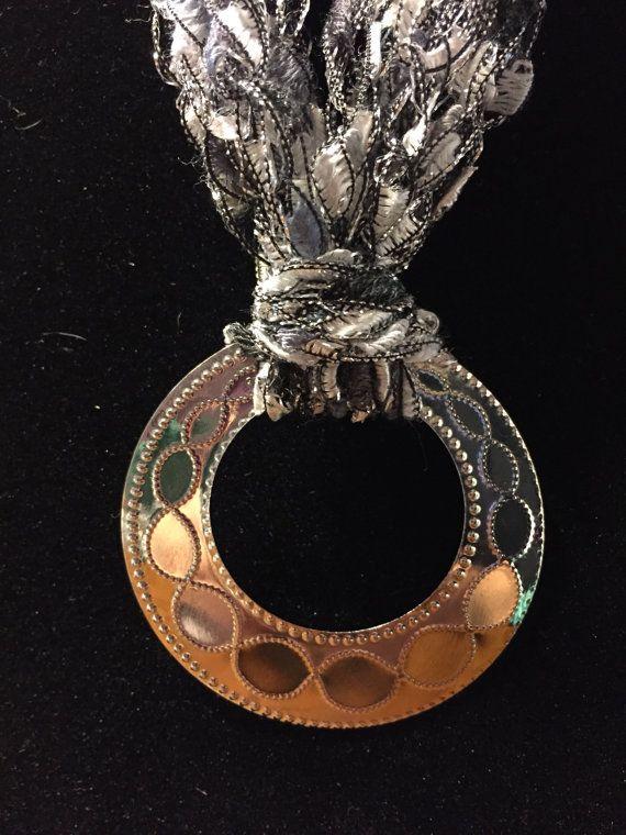 Crochet necklace by DreamalittleGifts on Etsy