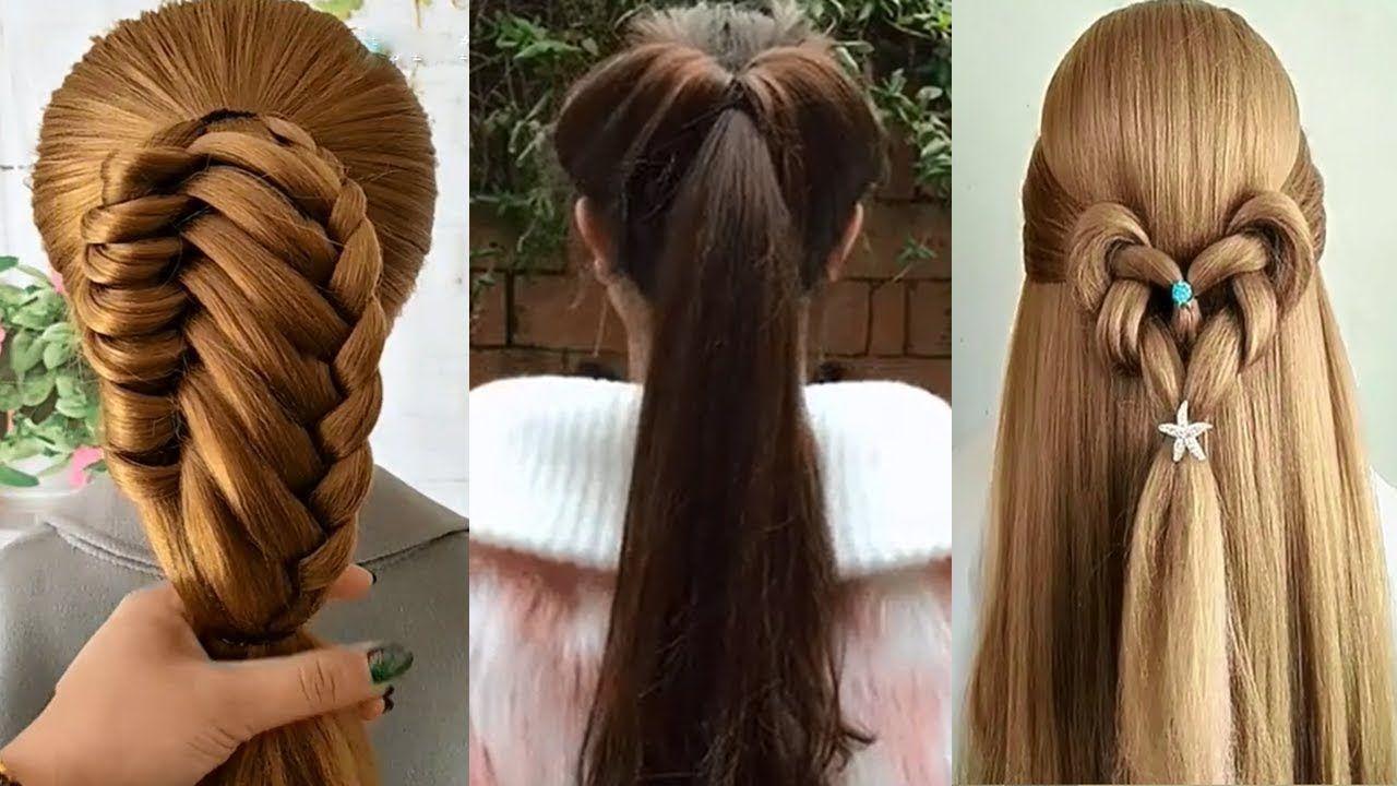 20 Peinados Fáciles Bonitos Y Rapidos Con Trenzas Para Cabello Peinado Niñas Peinados De Mo Hair Styles Hair Wrap Hair