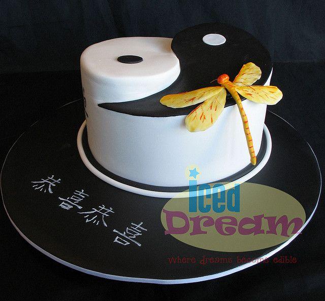 Yin And Yang Cake Designs
