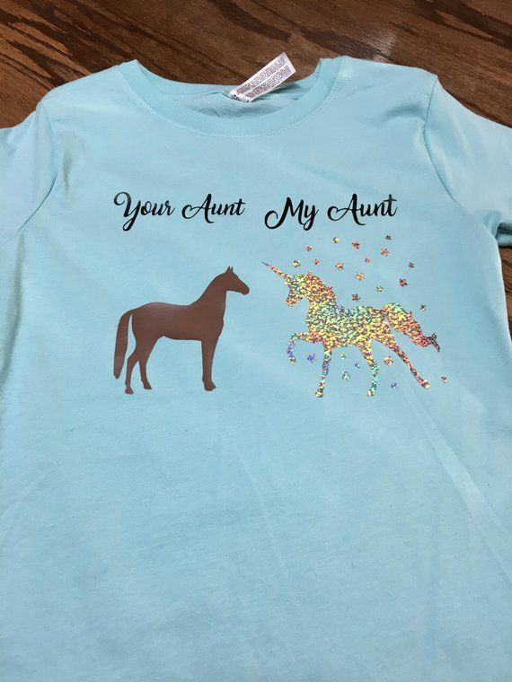 6356320f0 Your Aunt My Aunt shirt for niece - niece shirt from Aunt- unicorn shirt