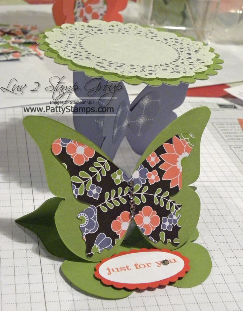 Butterfly easel card card making pinterest easel cards