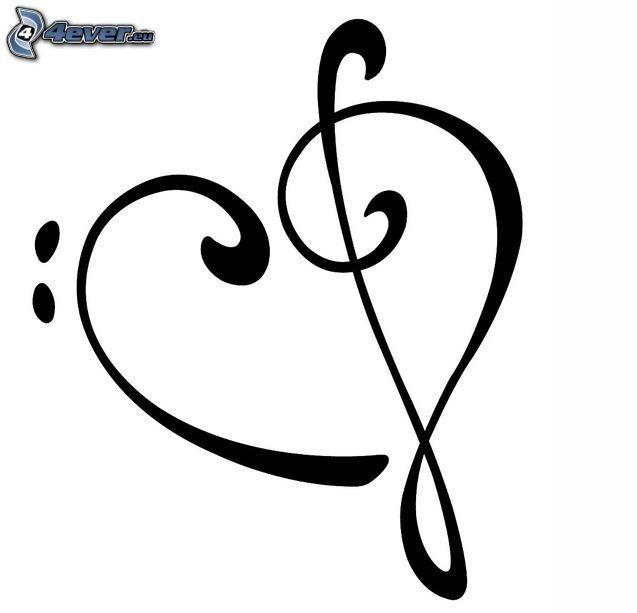 La Chiave Di Violino Immagini Music Tattoos Note Tattoo E