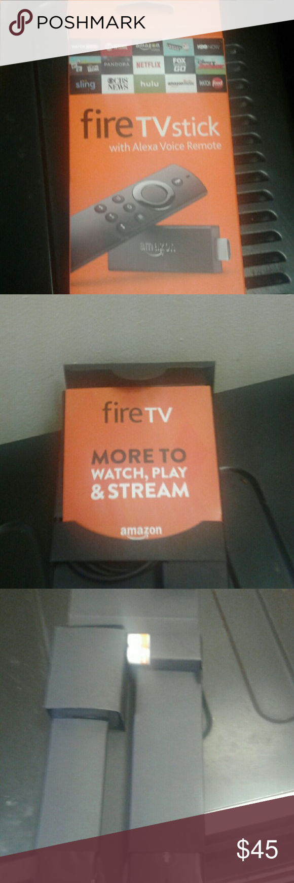 FIRE TV STICK WITH ALEXA REMOTE FIRESTICK Other