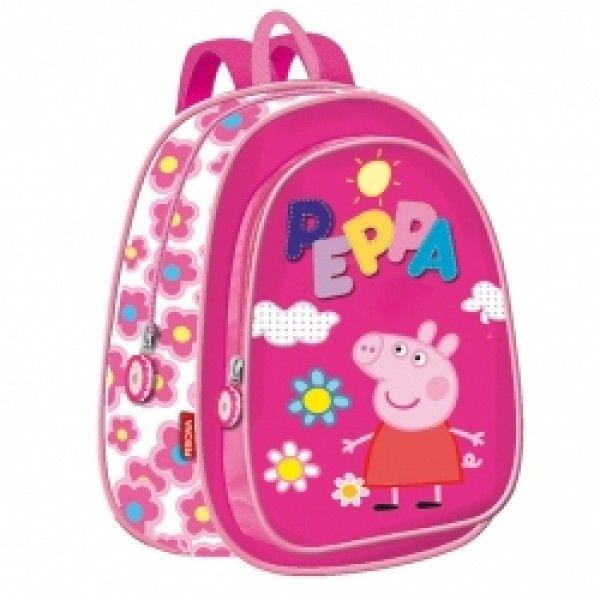 più recente 17322 fdcf7 Peppa Pig Zaino Asilo | Back To School | Peppa pig, Scuola ...