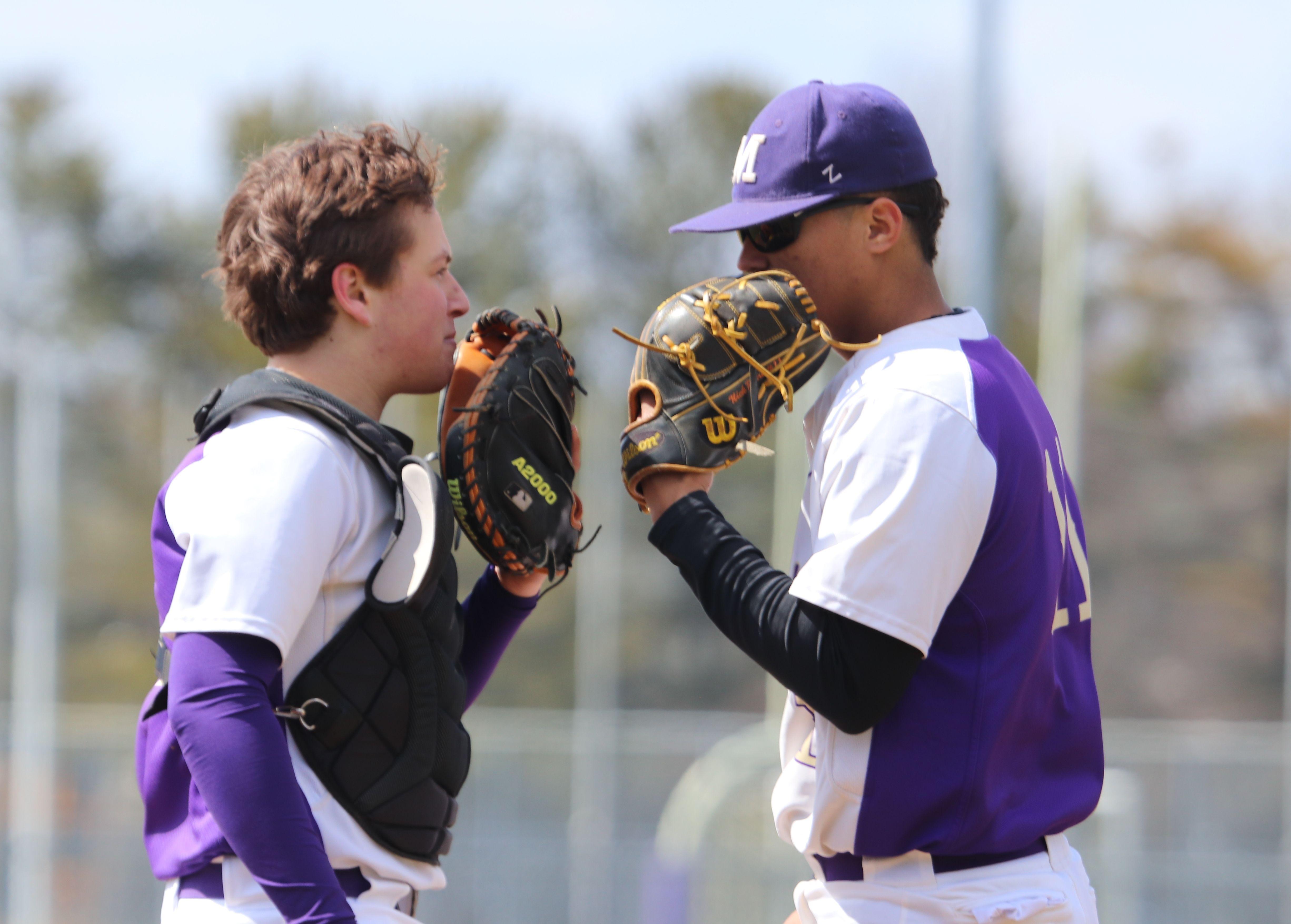 Jack Fitzgerald 2019 Baseball Catcher Monroe Township Nj Tri State Arsenal With Nick Payero Seton Hall Pitcher Baseball Catcher Jack Fitzgerald Fitzgerald