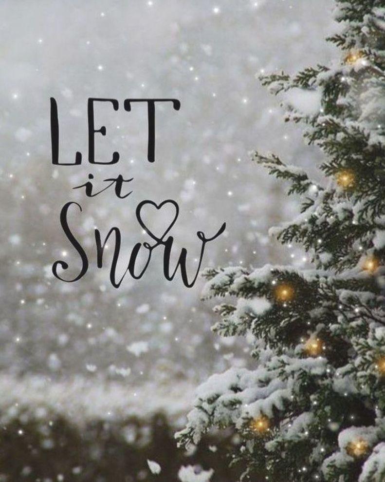 Winter Girl On Instagram Let It Snow Wallpaper Iphone Christmas Cute Christmas Wallpaper Christmas Instagram Pictures