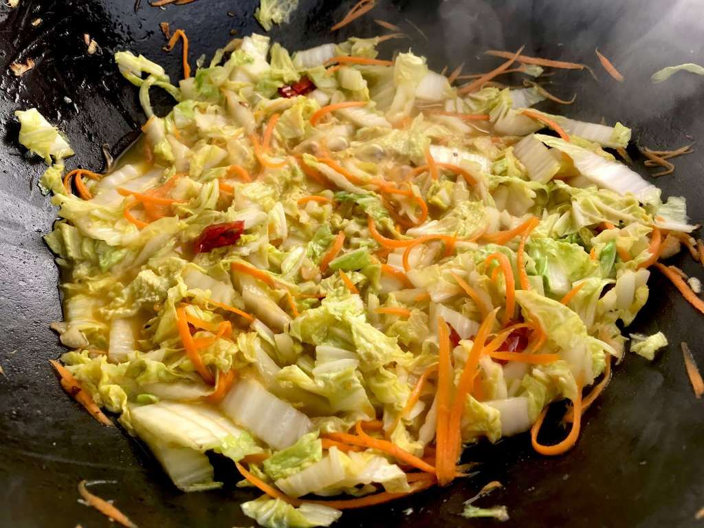 Photo of Chinese cabbage with wok honey – too lazy to cook?