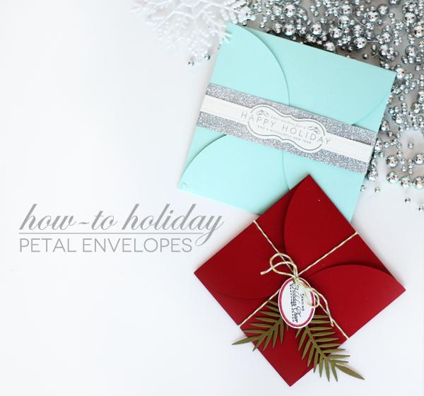 How-To Holiday: DIY Petal Envelopes | Envelopes, Damasks and Jar