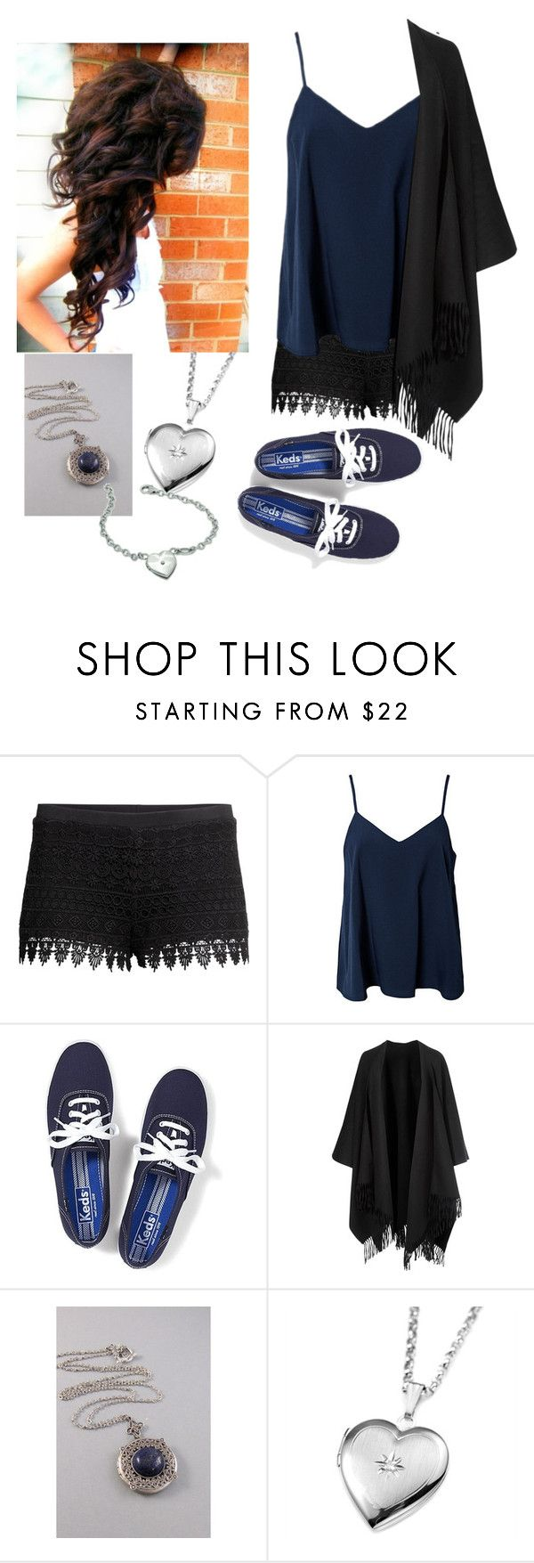 """""""kat Gilbert"""" by rettell on Polyvore featuring H&M, NLY Trend, Keds and Acne Studios"""
