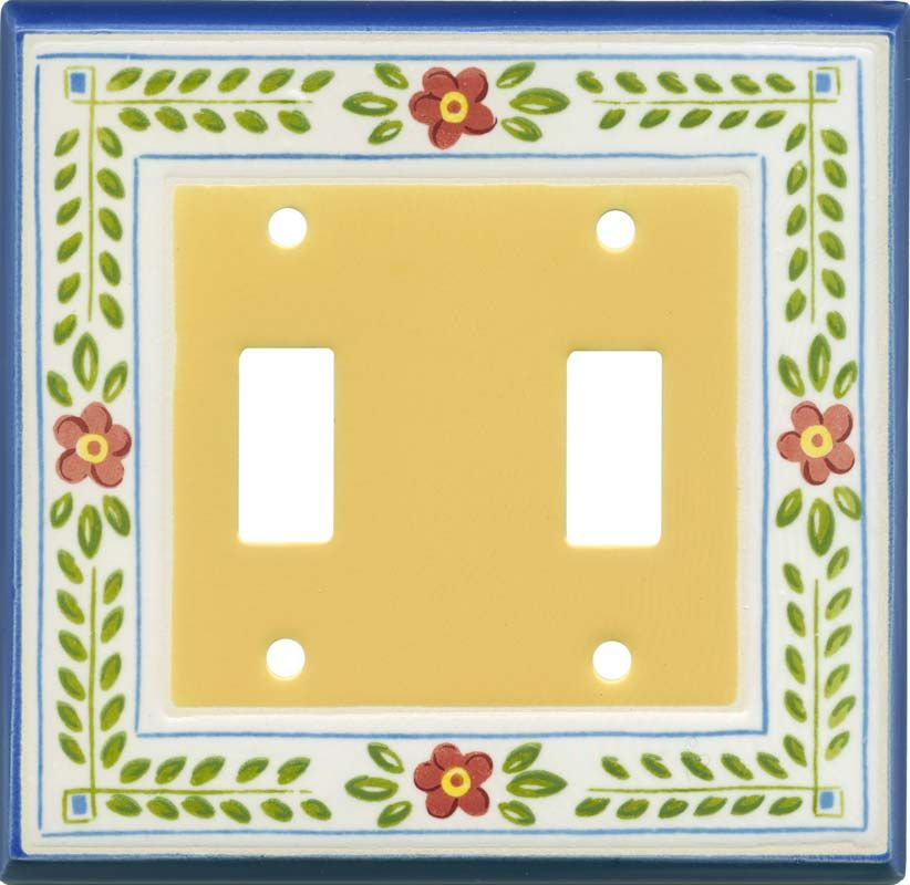 Ceramic Light Switch Covers Fair French Country Switch Plates Outlet Covers & Rocker Switchplates Inspiration