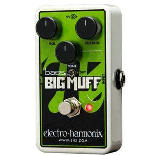 Electro Harmonix Nano Bass Big Muff PI Distortion Pedal at Gear4Music.com