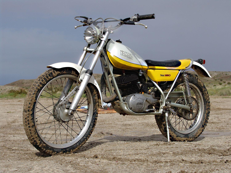 70 39 s yamaha trials 2 stroke custom motorcycles for Yamaha trials bike