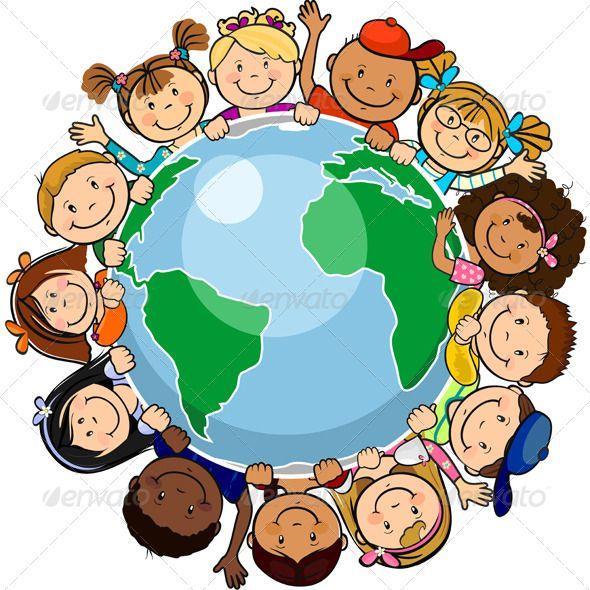 Znalezione obrazy dla zapytania kids all the world clipart