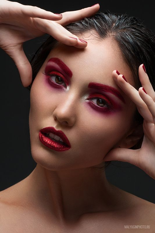 Deep Red By Mikhail Malyugin Via Behance Temp Harmany Pinterest