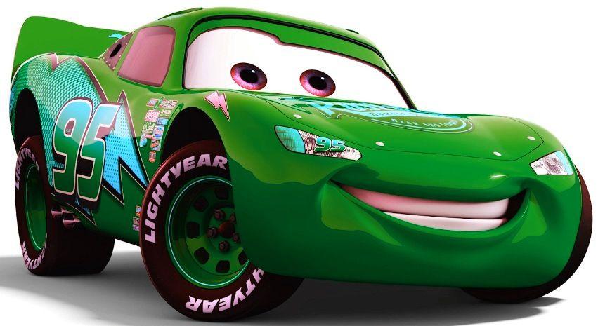 Green Lighting Mcqueen Carros Da Disney Decoracao De Festa Infantil Tema Carros Festa Carros