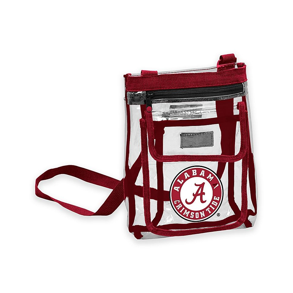 University Of Alabama Gameday Clear Crossbody Bag Multi Products